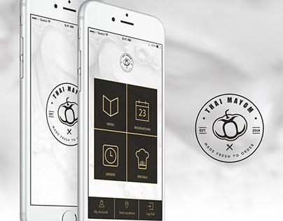 Thai Mayom App Design
