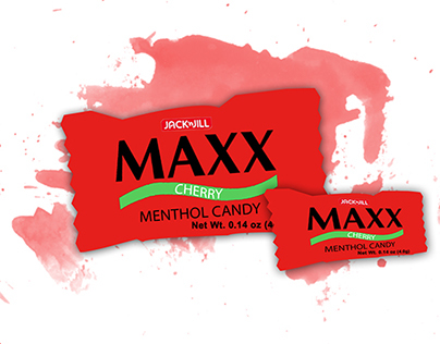 MAXX Menthol Candy Sustaining ads