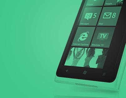 Movistar TV - Windows phone app concept