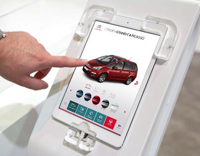 Citroen touch screen terminals