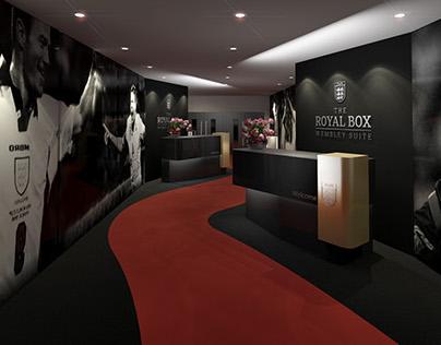 Club Wembley Hospitality - Design & 3D Visualisation