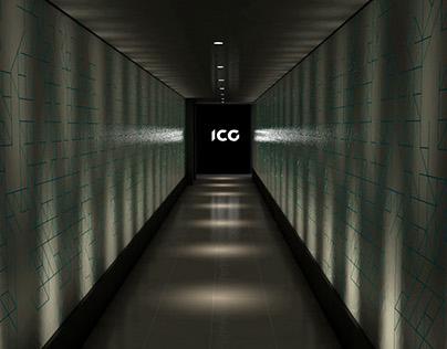 ICG Rebranding Launch Event - Design & 3D Visualisation