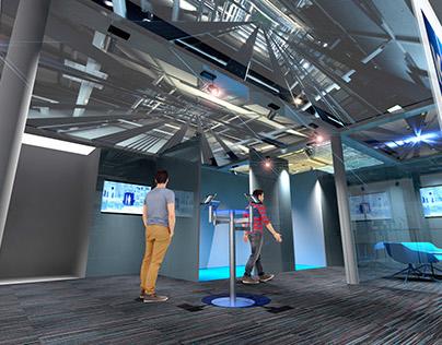 KONE Visitors Centre - Design & 3D Visualisation