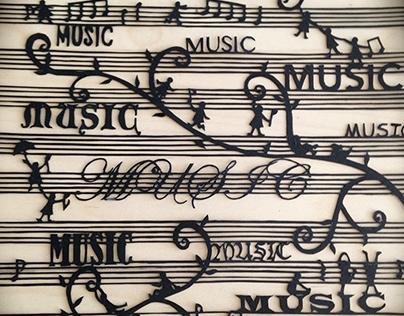 Paper Cut: Music