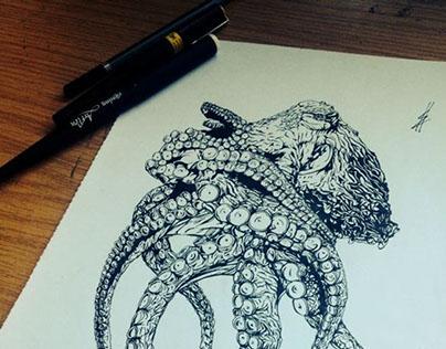 Pen Sketches 2014
