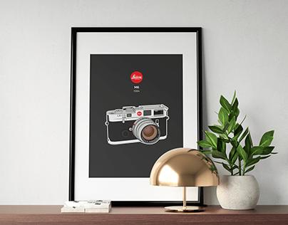 Vintage Camera Illustrations /// 2019