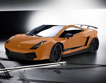 Lamborghini in Rhinoceros 3D