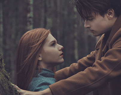 Twilight | Couple in the forest | Lovestory