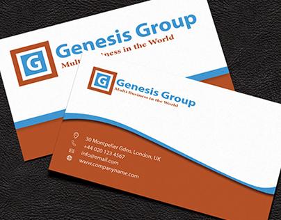 Genesis Corporate Business Card (free)