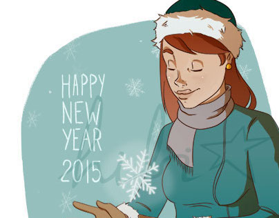 Illustration :: Happy New Year 2015
