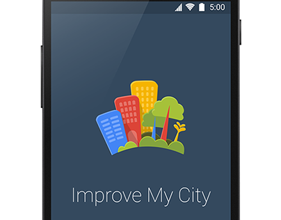 Improve My City android app redesign