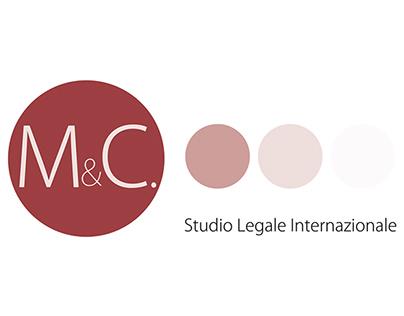 M&C - Studio Legale: logo design & graphic set