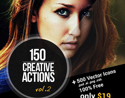 150 Amazing Photoshop Actions