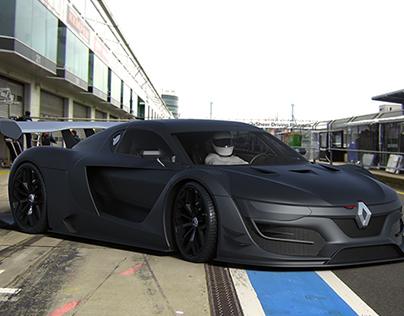 Renault Sport RS01 Matte Black