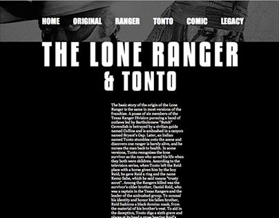 The Lone Ranger (Website)