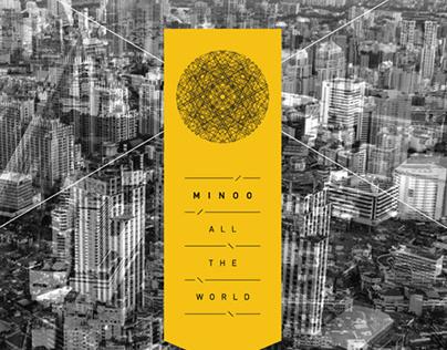 All The World - Vinyl Cover Design (Music)