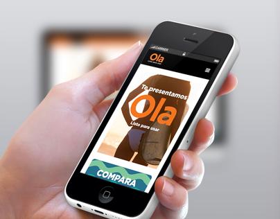 Ola (Responsive Web Design)
