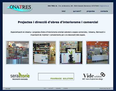 Website Ona Tres