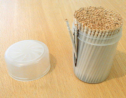 Toothpick Packaging