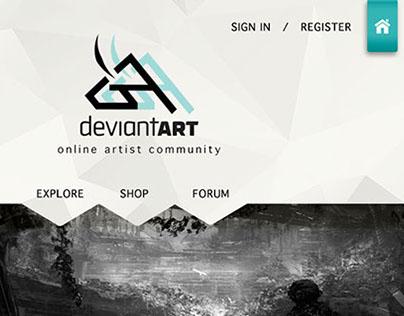 Deviantart Re-design