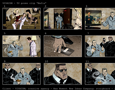 TVC Storyboards - 1