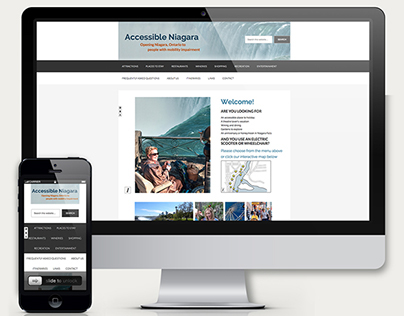 Accessible Niagara Website