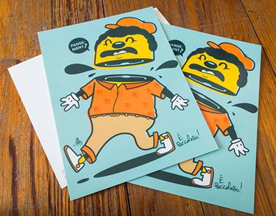 "Cartes Postales ""E PERICOLOSO #3″"