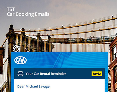TST Car Booking Emails
