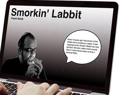 Frank Kozik Concept Website