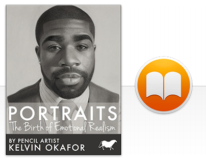 iBook: Portraits by Pencil Artist Kelvin Okafor