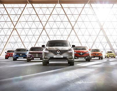 Renault Car Range - CGI