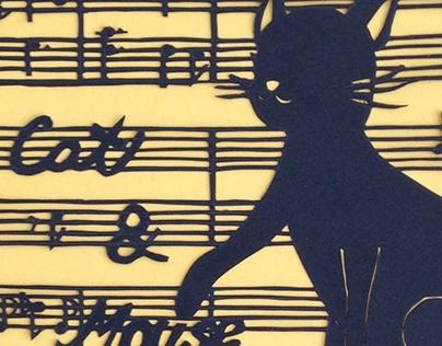 Paper cut: Cat & Mouse