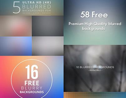 Free Blurred Background Packs