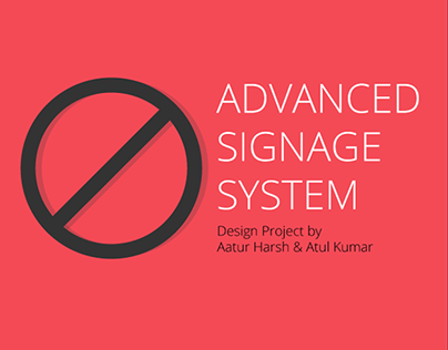 Advanced Signage System for Indian Traffic