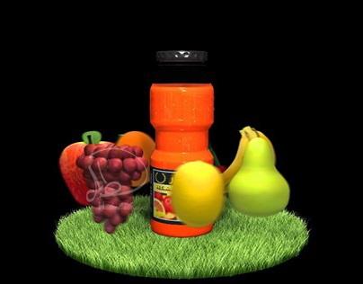 Caesar Juice Advertisement