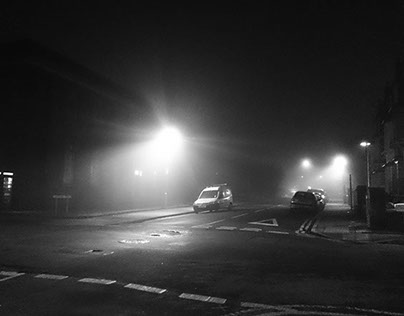 4.1.2015 Misty Street photographs