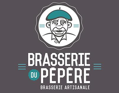 Brasserie du Pépère - Identité Visuelle