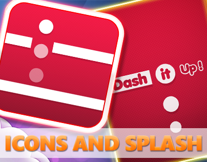 Simple ICON and Splash Screen For Dash It IOS game