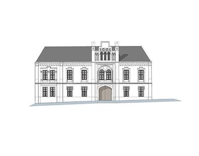 Obnova objektu Radnice - Svätý Jur, BA  2013