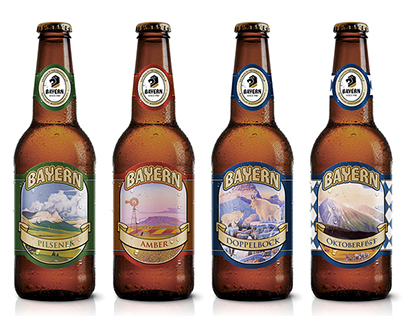 Pacific Northwest Beer Labels