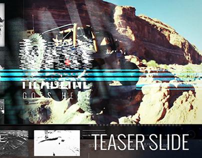 Teaser Slide