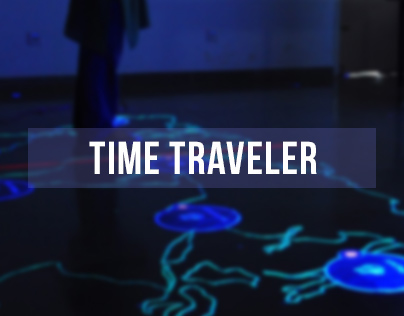 Interactive Space - Time Traveller Digital Installation