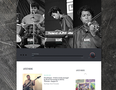 Music Band Website