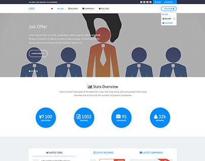 Job Site Mockup