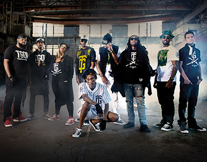 Wiz Khalifa & Taylor Gang for Neff Headwear