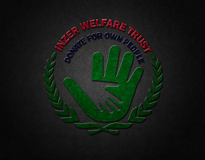 Inzer welfare trust Donate for own people Logo Design