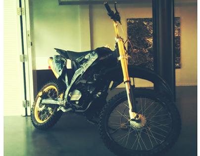 Raw Rage's Motorbike