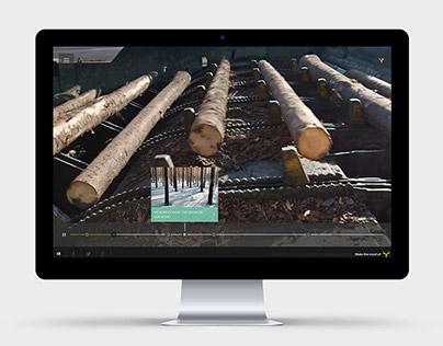 Metsä Tree Online marketing website