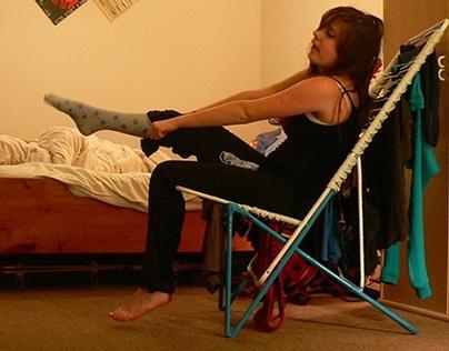 laundry chair- fotelja za veš