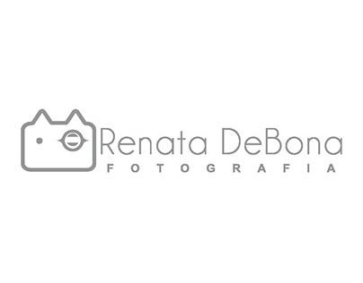 Criação de logotipo - Renata DeBona Fotografia